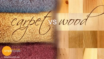 Choosing between Hardwood Flooring versus Carpeting