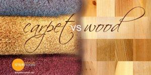 Choosing between Hardwood Flooring versus Carpeting