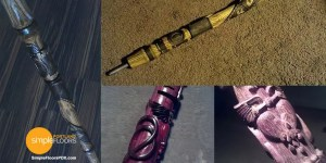 Custom carved walking sticks and canes