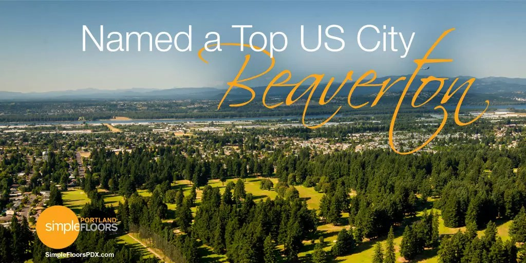Beaverton Named A Top US City