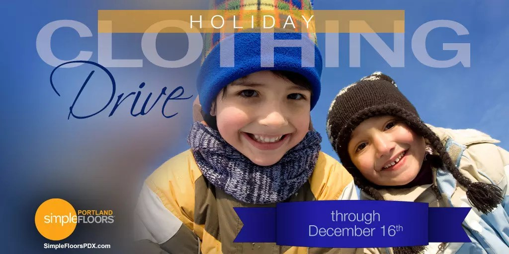 Holiday Clothing Drive for Portland Kids