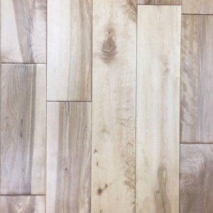 Natural Birch Handscraped Oak Solid Hardwood Floor