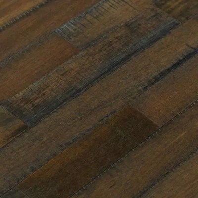 danaloo hand scraped mahogany solid wood flooring