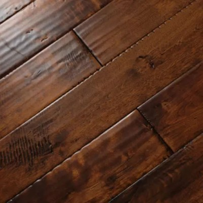 modena handscraped maple solid wood flooring