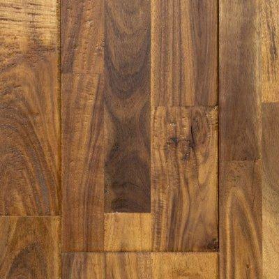 Distressed Mocha Fossilized 174 Handscraped Bamboo Wood Floors Wide Click