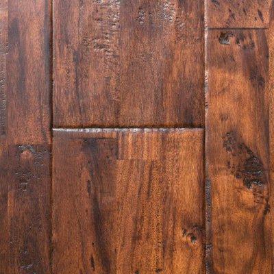 sable handscraped acacia solid hardwood flooring