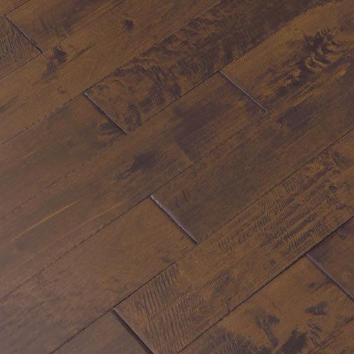 sienna handscraped maple solid wood flooring
