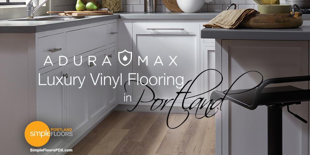 Adura Max Luxury Vinyl Tile Floor In Portland