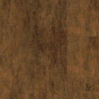 aged copper luxury vinyl tile flooring