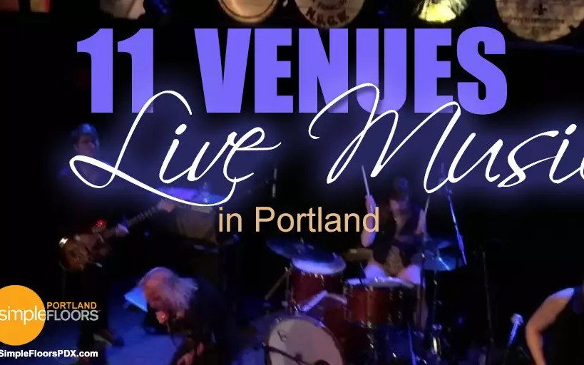 11 Portland Venues To Enjoy Live Music
