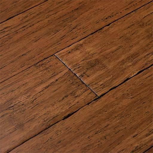 Antique Java Fossilized 174 Handscraped Bamboo Wood Floor