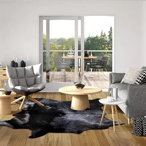 Blue Ridge – Bryson Handscraped European Oak Engineered Wood Floors