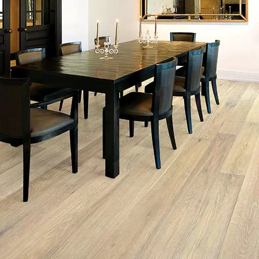 British Isles Essex Wire Brushed Oak Engineered Wood Floor