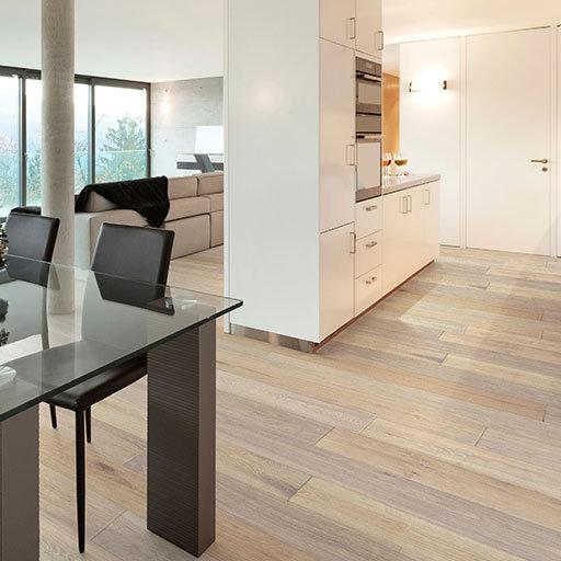 British Isles – Swansea Wire-Brushed European Oak Engineered Wood Floor
