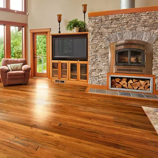 Johnson Hardwood Amber Ale English Pub Engineered Wood Flooring