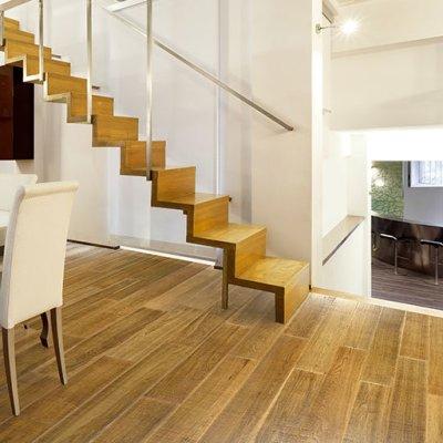 Appaloosa Resawn Oak Engineered Wood Floor by Johnson Hardwood