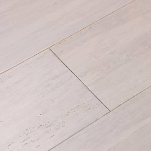 Pearl handscraped bamboo floors by Cali Bamboo