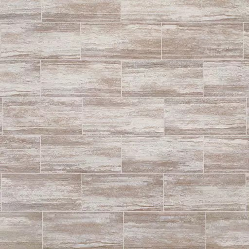 Adura Max Cascade Harbor Beige Travertine LVT Rectangle Flooring