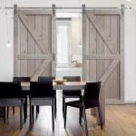 Double Barn Door Home Design Trend