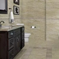 Tile Flooring - Bathroom