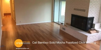 Cali Bamboo Solid Mocha Click Flooring