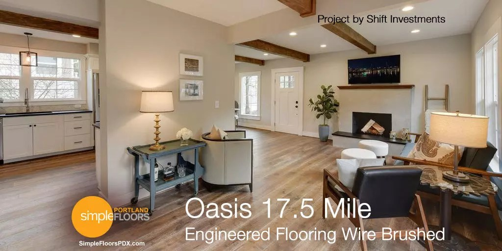 Engineered Wood Floor Oasis