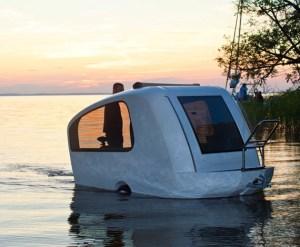 Sealander Amphibious Camping Trailer