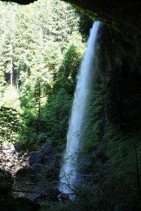 North Falls Waterfall at Silver Falls