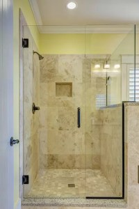 Large Shower Design - Walkin Shower