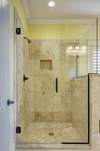 Large Shower Design - Walkin Shower
