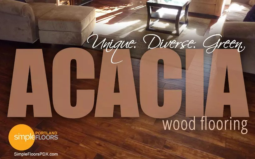 Acacia flooring - wood floors that are unique, diverse and green