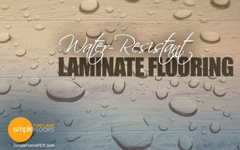 Water-Resistant Laminate Flooring
