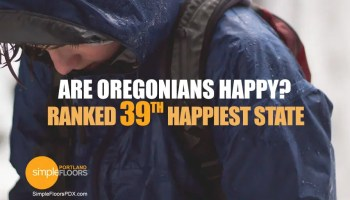 39th happiest state - Oregon