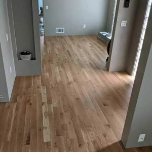Closeout white oak flooring