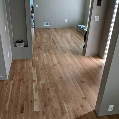 Closeout white oak flooring