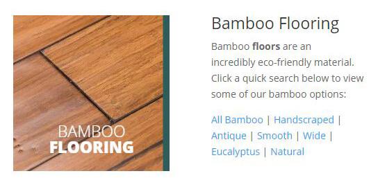 Bamboo Flooring Online Catalog - Portland Oregon