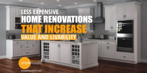 best low cost renovations for increased home value in Portland