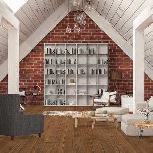 Johnson Green Mountain Granby Oak Solid Hardwood Flooring scene