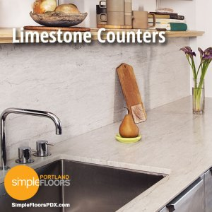 Portland Limestone Counter tops