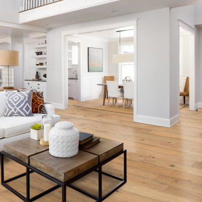 Naturally Aged Cliffside Engineered Hardwood Floor - White Oak