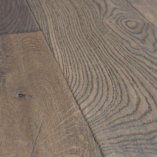 Naturally Aged Nightfall Engineered Hardwood Floor - Oak - Wiredbrushed Collection