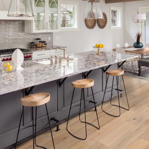 Naturally Aged Prairie Engineered Hardwood Floor - Oak