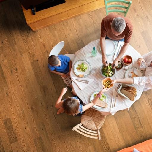 Naturally Aged Autumn Tea Engineered Hardwood Floor - Oak