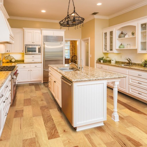 Naturally Aged Dun Engineered Hardwood Floor - Hickory