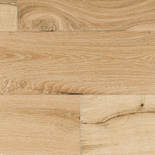 Closeup - Naturally Aged Snow Cap Engineered Hardwood Floor - Oak