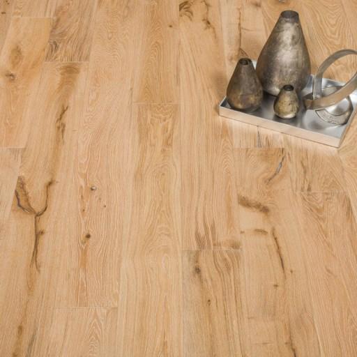 Naturally Aged Snow Cap Engineered Hardwood Floor - Oak