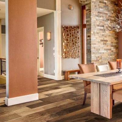 Naturally Aged Sorrel Engineered Hardwood Floor - Walnut