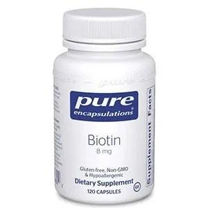Biotin 120 caps Pure Encapsulations