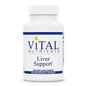 Liver Support 120 Capsules Vital Nutrients