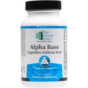 Alpha Base Capsules w/o Iron
